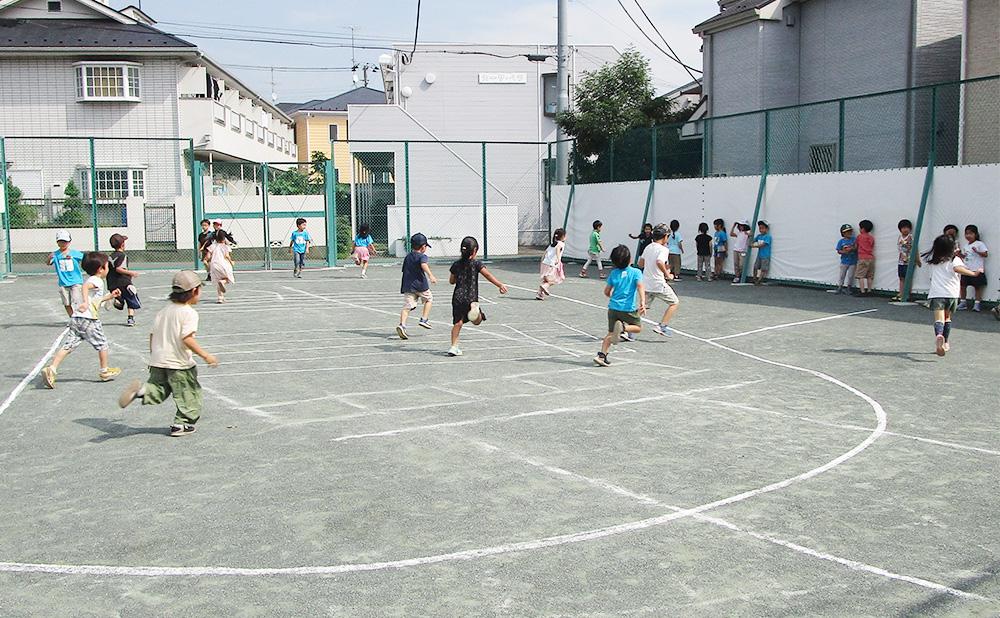 松沢幼稚園_グランド