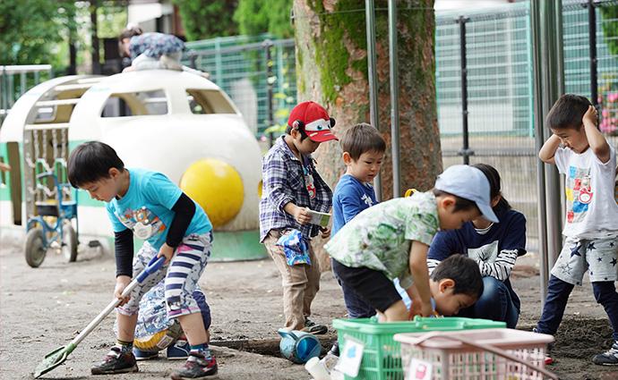 松沢幼稚園_園庭